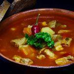 goulash, soup, meat