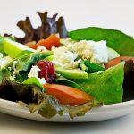 salad, fresh, food